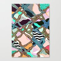 ELECTRIC VIBES Canvas Print