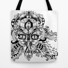 Mask Face Tote Bag