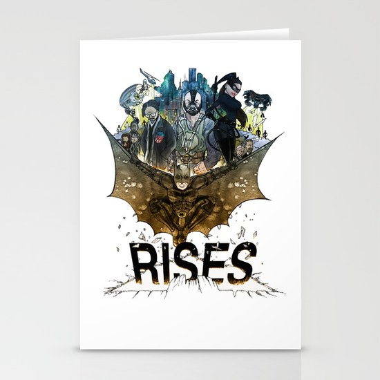 you're COLOR rises Stationery Card