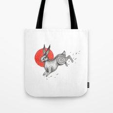 The Black Rabbit of Inlé Tote Bag