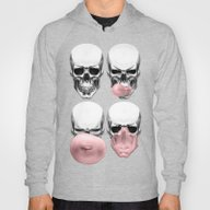 Skulls Chewing Bubblegum Hoody