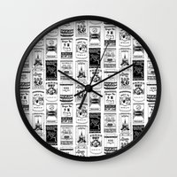 chinese teabox collection Wall Clock