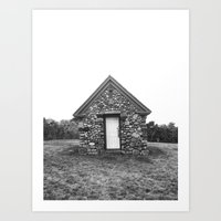 Pump House Art Print