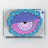 eye clumps iPad Case