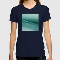 Fantasy Space Lines 1 Tu… Womens Fitted Tee Navy SMALL