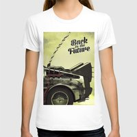 back to the future T-shirts featuring Back to the future by Duke.Doks