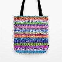 Peru Stripe II Tote Bag