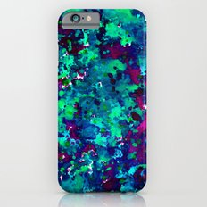 Midnight Oil Spill iPhone 6 Slim Case