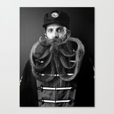 A Book of Beards Canvas Print