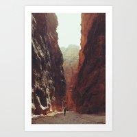 Petra I Art Print