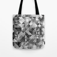 Moon Matrix Tote Bag