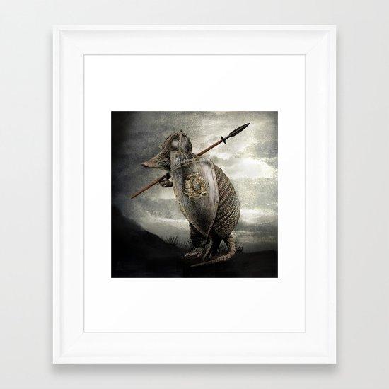 Armadillo by Eric Fan & Viviana González Framed Art Print
