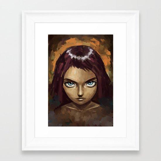 Raven Framed Art Print