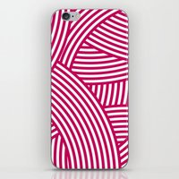New Weave in Pink iPhone & iPod Skin