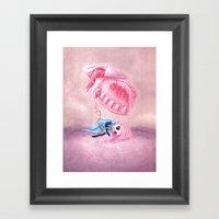 Be All Heart Framed Art Print