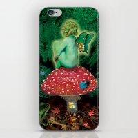 The Amanita Eater iPhone & iPod Skin