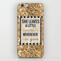 She Leaves A Little Spar… iPhone & iPod Skin