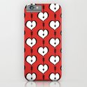 Loving You white hearts iPhone & iPod Case