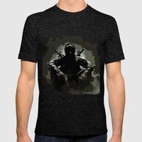 Call Of Duty Camo Mens Fitted Tee Tri-Black SMALL