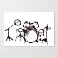 Drums Canvas Print