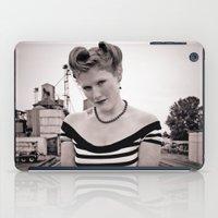 Railway pinup iPad Case