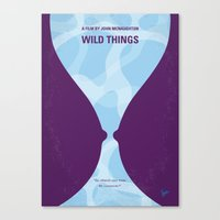 No630 My Wild Things Min… Canvas Print