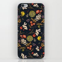 Autumn Bunny Land iPhone & iPod Skin