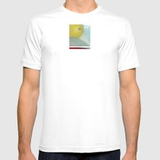 Distance 77 Mens Fitted Tee SMALL White