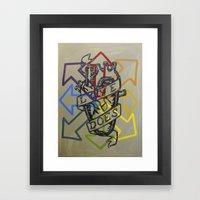 jubilee 2013 - restoration  Framed Art Print