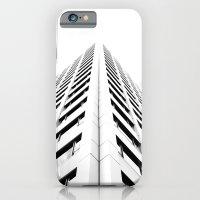 Keep Your Aim High (White Symmetry) iPhone 6 Slim Case