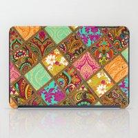 Patchwork Paisley iPad Case