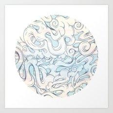 Entangled Souls Art Print