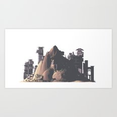 Mountain 02 Art Print