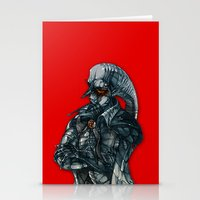 vampire lord Stationery Cards