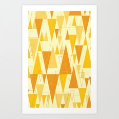 Love Triangle 1 Art Print