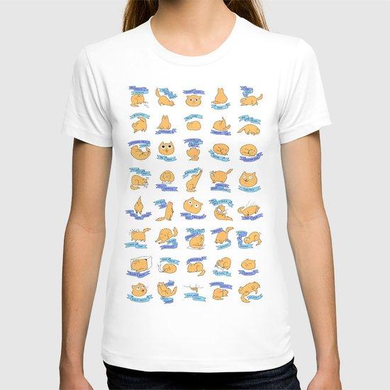 CAT MOVES T-shirt