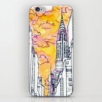 New York Sunset iPhone & iPod Skin