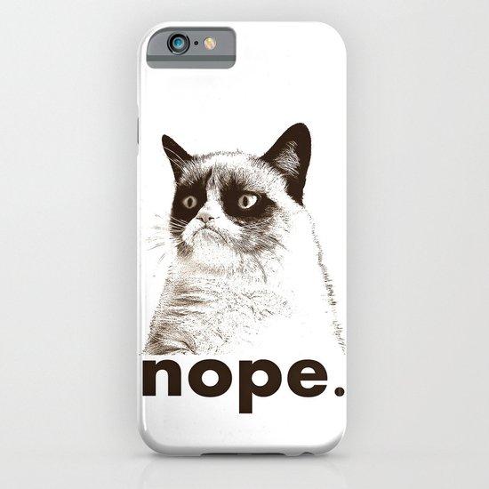 NOPE - Grumpy cat. iPhone & iPod Case