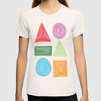 Shapes Womens Fitted Tee Natural SMALL