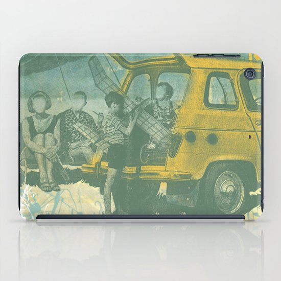 when i was young _ model planes and station wagons iPad Case