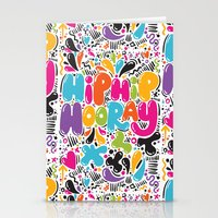 HIP HIP HOORAY HOORAY Stationery Cards