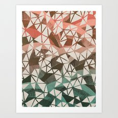 Geometry Jam Art Print