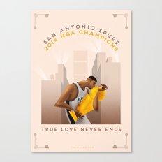 NBA PLAYOFFS 2014 - THE END Canvas Print