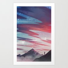 10 km Art Print