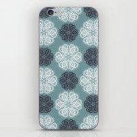 PAISLEYSCOPE Posh (jade) iPhone & iPod Skin
