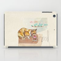 Illustration Friday- Dessert iPad Case