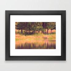 Pastel Reflections Framed Art Print