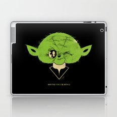 StarWars May the Force be with you (green vers.) Laptop & iPad Skin