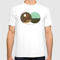 Boring By The Sea | Coll… Mens Fitted Tee White SMALL