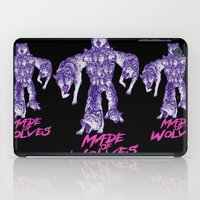 Made Of Wolves iPad Case